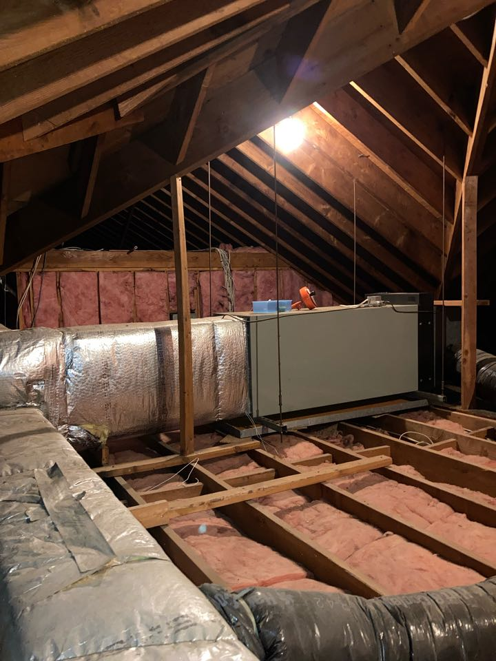 Livingston, NJ - Replacement of American Standard central air conditioning system in Livingston.