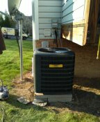 Oakdale, PA - Installed a new Air Conditioner, Evaporator Coil, Copper line set and a new Disconnect switch