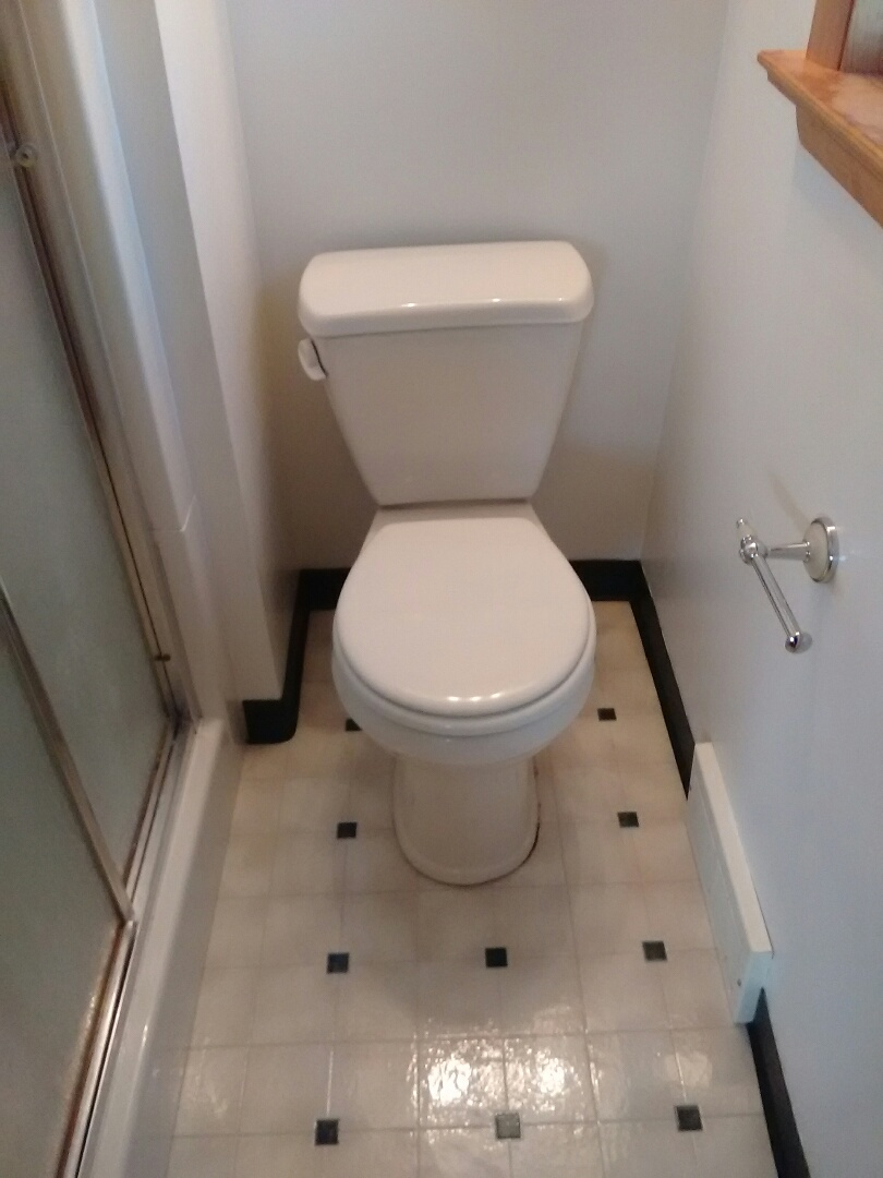 Aliquippa, PA - Installed new toilet