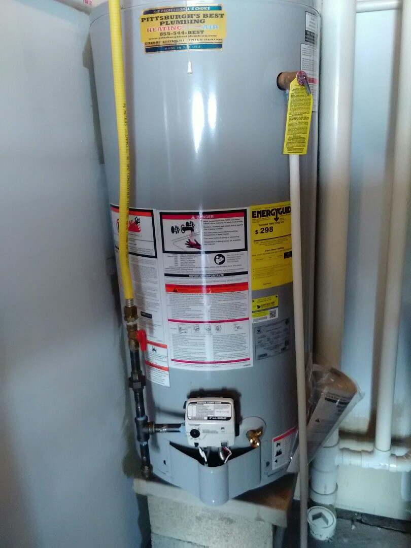 Moon, PA - Install water heater