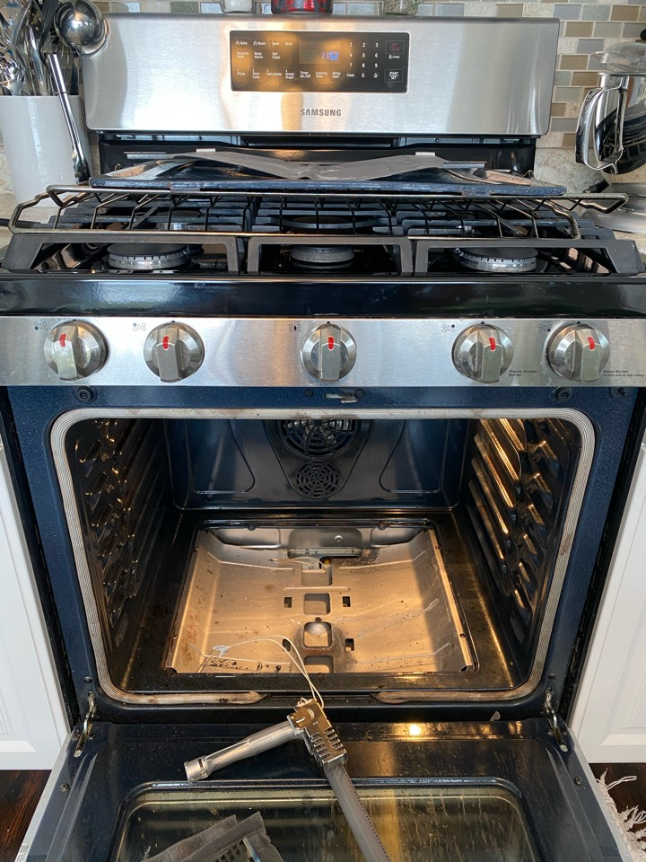Replaced oven start igniter on Samsung stove.