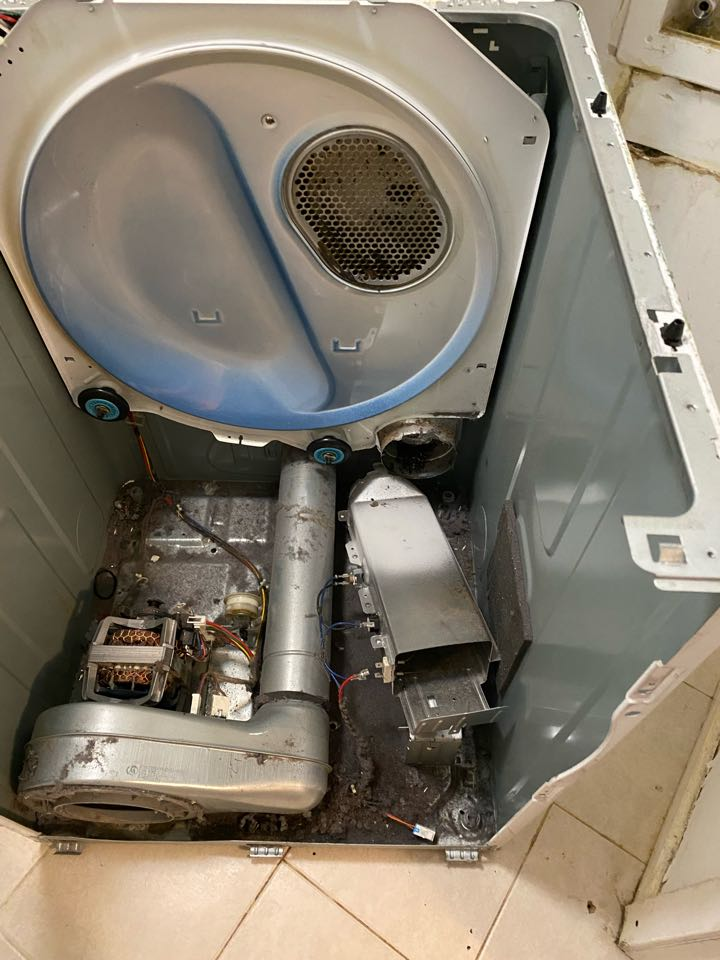 Replaced heating element on Samsung dryer that had no heat.