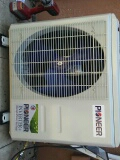 Wildomar, CA - 6/9/17. Wildomar. Residential home. Removing faulty mini-split system. Installing new pioneer heat pump inverter mini-split system.