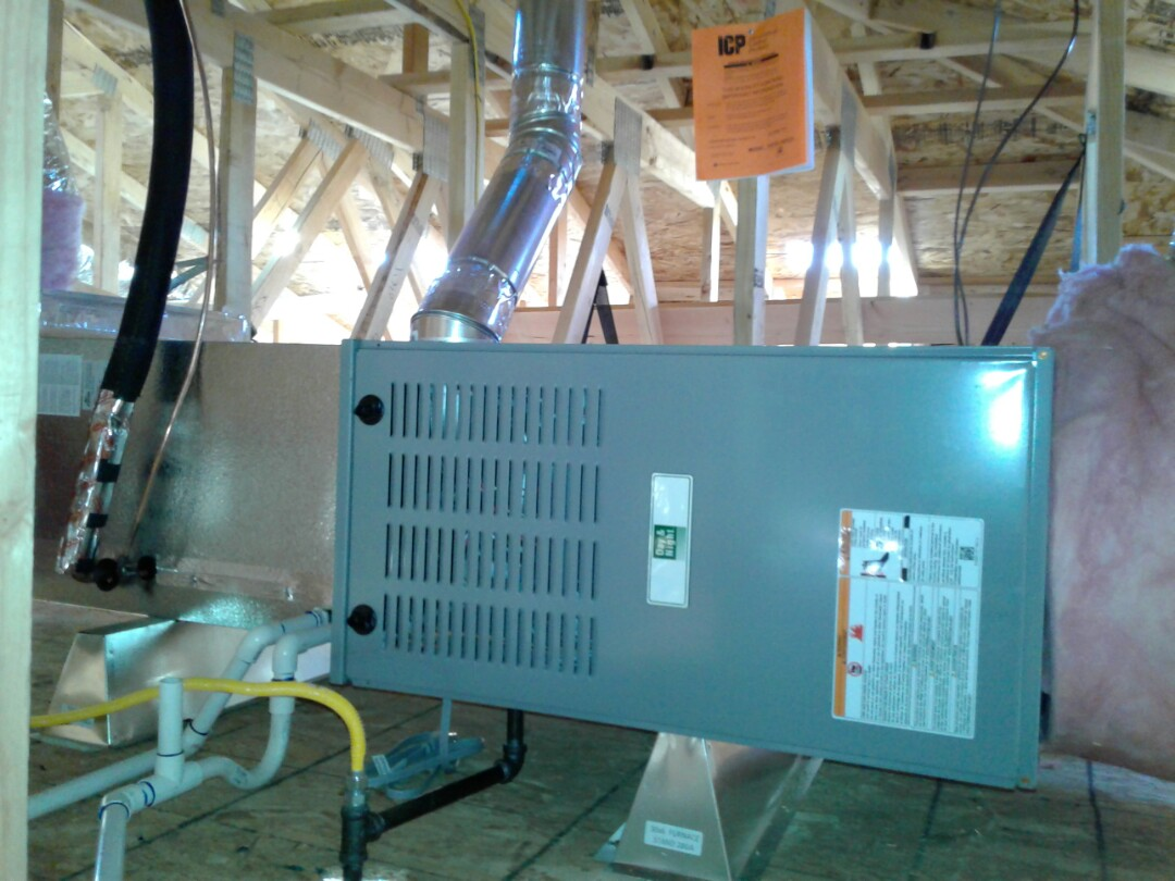 Victorville, CA - Installed new 410A Day and Night 4 ton heating and air conditioning system