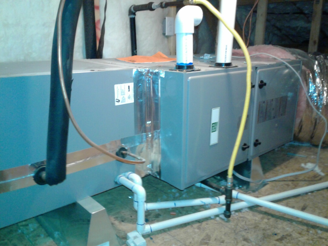 Hesperia, CA - Installed new 4 ton 96% heating and 4 ton 410A air conditioning system