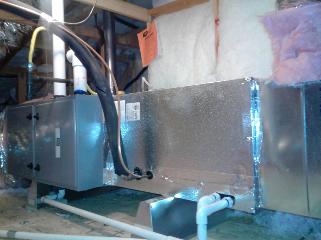Hesperia, CA - Installed new 4 ton day and night 96% heater with 4 ton 16 seer 410A day and night air conditioning system