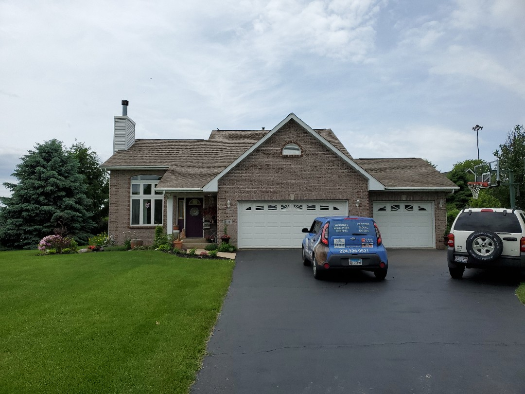 Rockford, IL - Roof and siding inspection