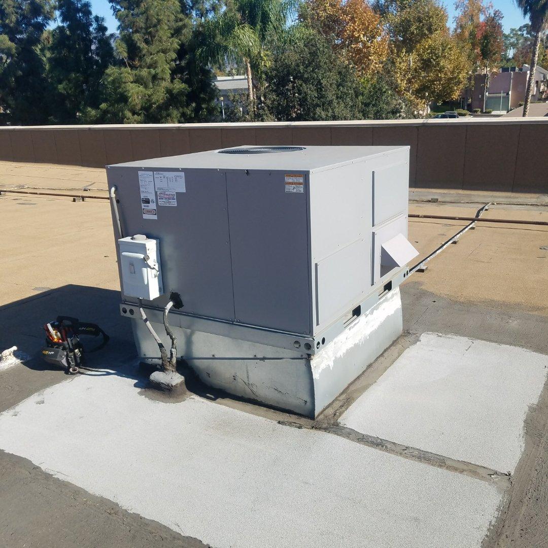 San Dimas, CA - Maintenance on 2 packaging units.