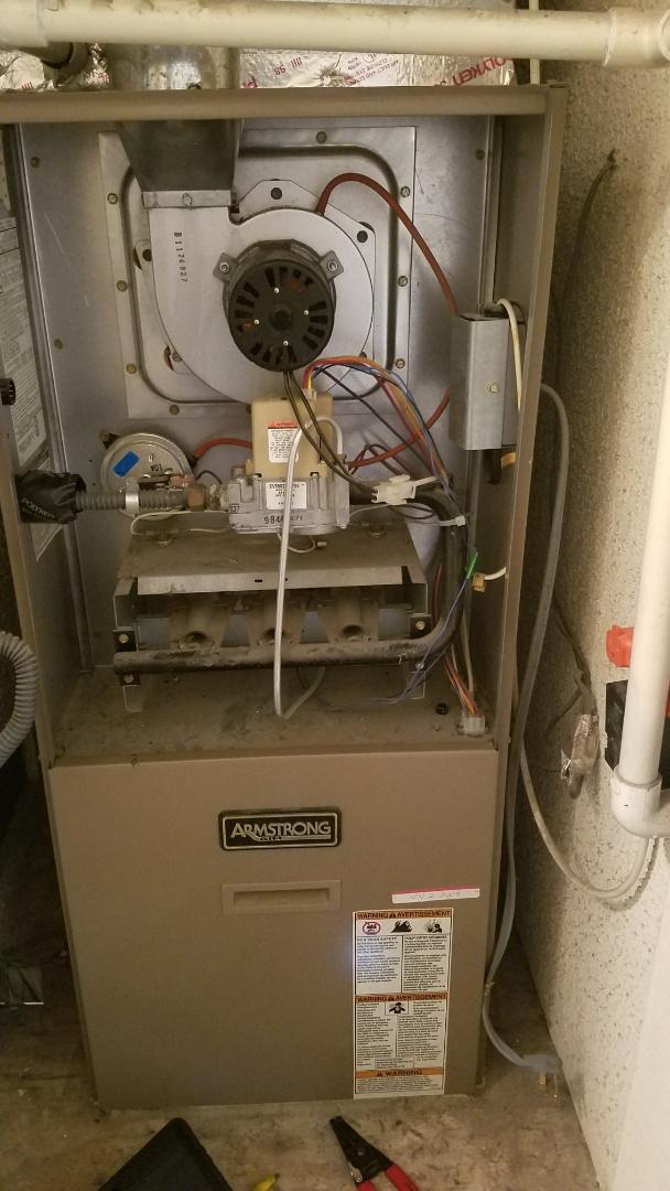 Glendora, CA - Bad pressure switch replaced
