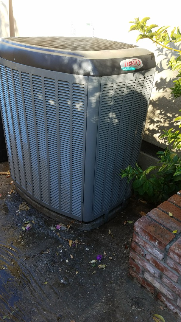 Claremont, CA - Cypress service to a Lennox split system