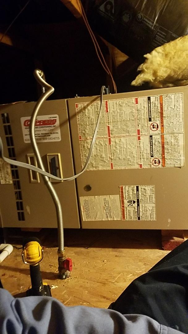 San Dimas, CA - Cypress tune up to a coleman furnace