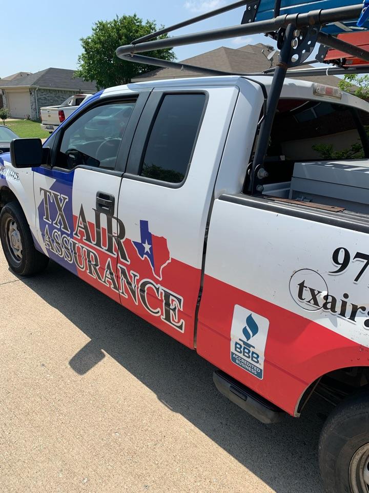 Palmer, TX - HVAC Maintenance for a nice family near Palmer, TX