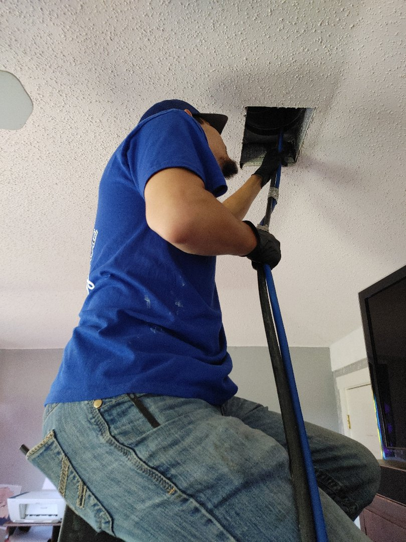 HVAC maintenance and duct cleaning.