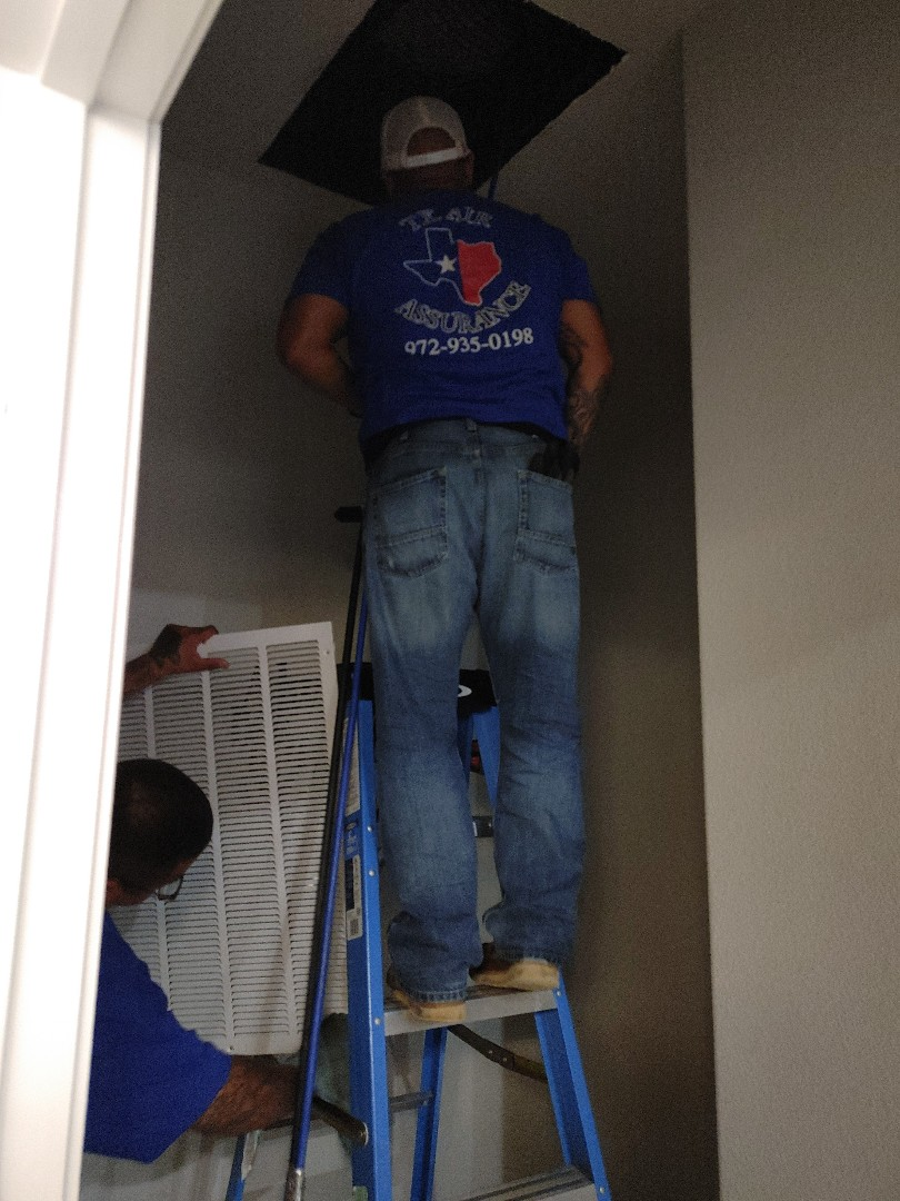 Glenn Heights, TX - HVAC maintenance and duct cleaning with dryer vent cleaning