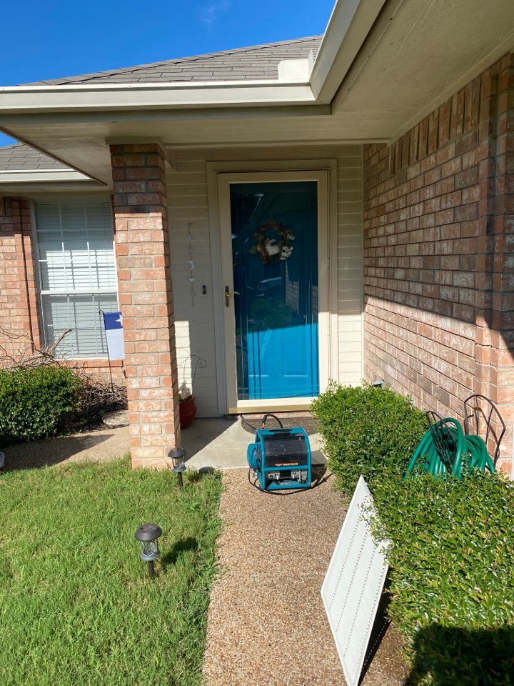 Another ac maintenance and ac duct cleaning for a great couple in waxahachie.