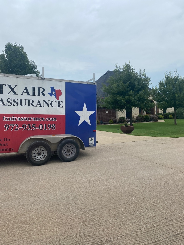 Air duct cleaning and ac maintenance for a great customer in waxahachie