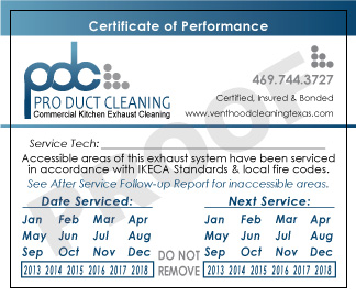 When Kitchen Exhaust Hood Cleaning Certification Means More Than ...