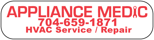 Charlotte, NC - Designed HVAC Watherproof Thermostat Sticker for Appliance Medic