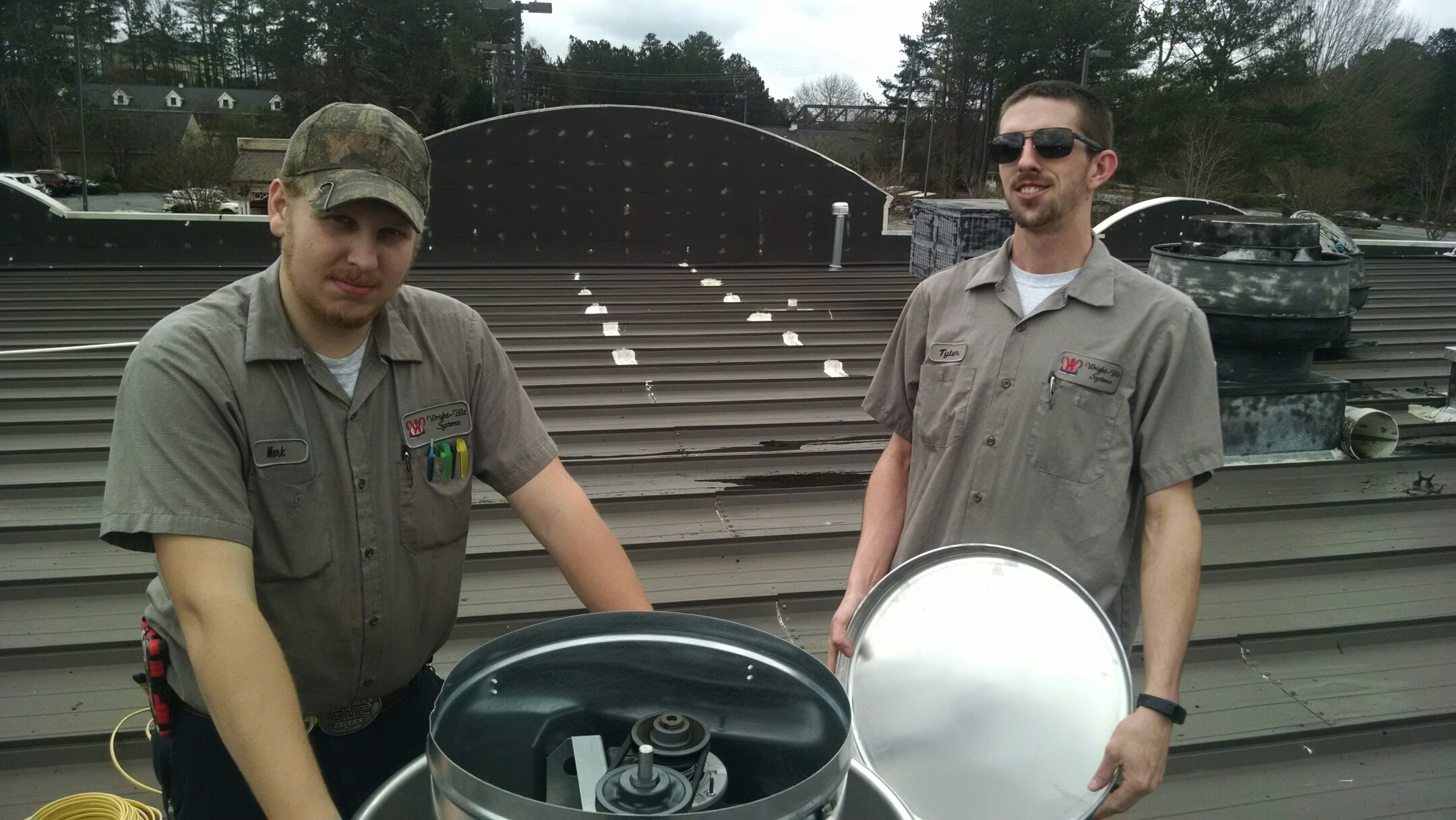 Peachtree City, GA - Replaced an exhaust system for Mellow Mushroom!