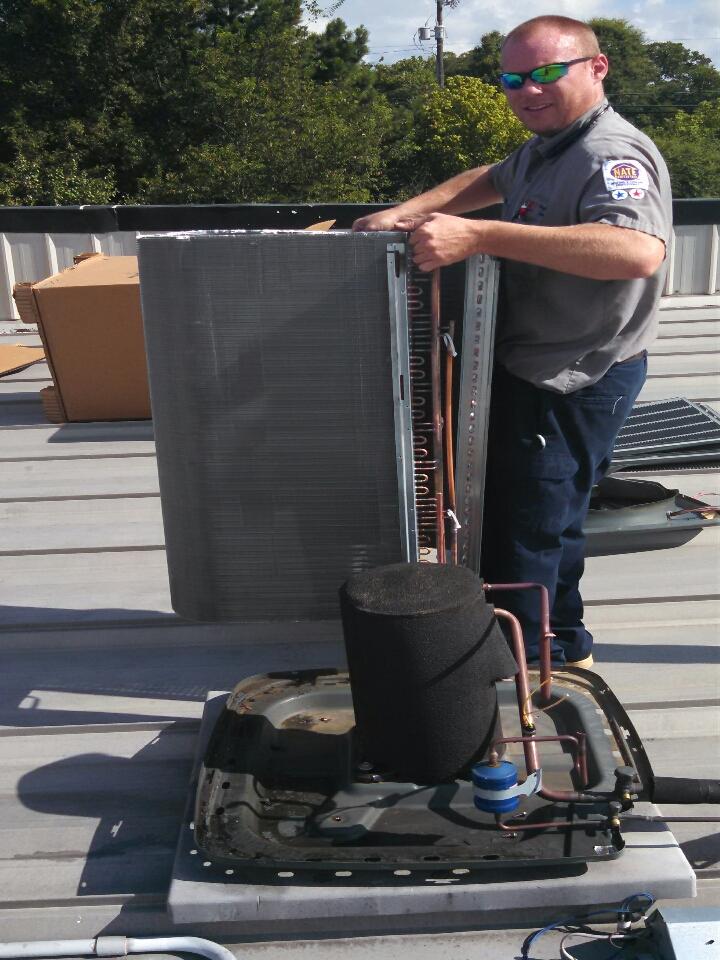 Griffin, GA - Condenser coil replacement/ Napa Auto