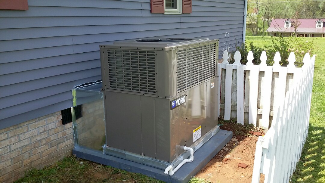 Installed York 2.5 Ton 16 Seer Heat Pump System in Madisonville