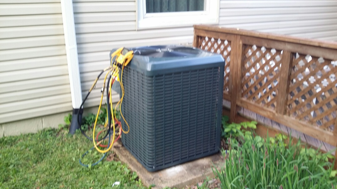 Installed Guardian 3 Ton Heat Pump System in Knoxville today. Another happy customer!