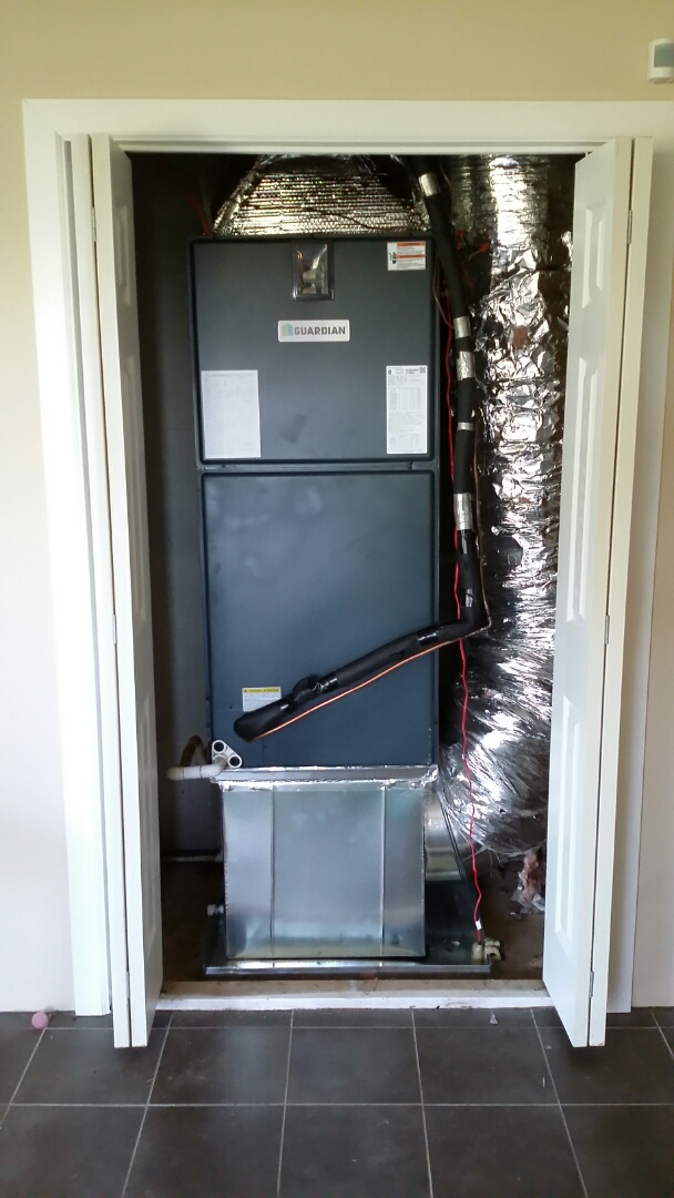 Kodak, TN - Installed Guardian 5 Ton 14 Seer Heat pump System in Kodak.