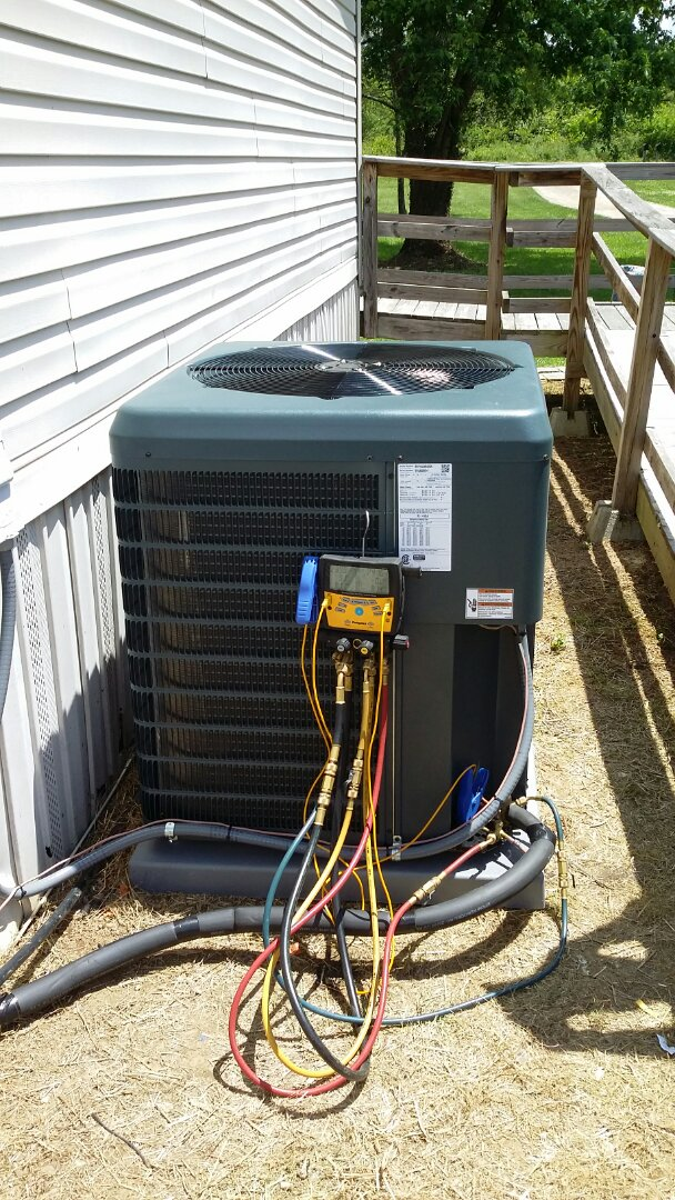 Installed Guardian 3 Ton Heat Pump System in Knoxville.  Another happy customer!
