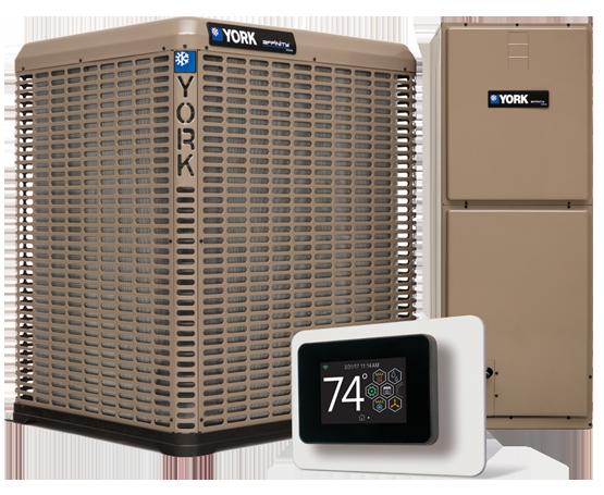 Installed York 2 Ton 17.5 Seer Heat Pump system 5 Stage Compressor in Walland.