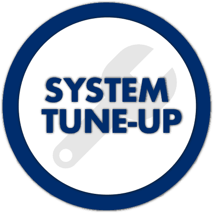 Tuned up system