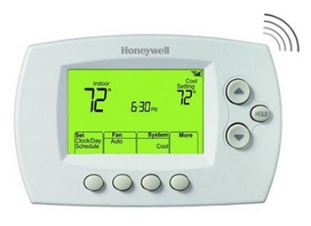 Sevierville, TN - Installed 3 New Honeywell WiFi Thermostats in Sevierville on Heat Pump systems.