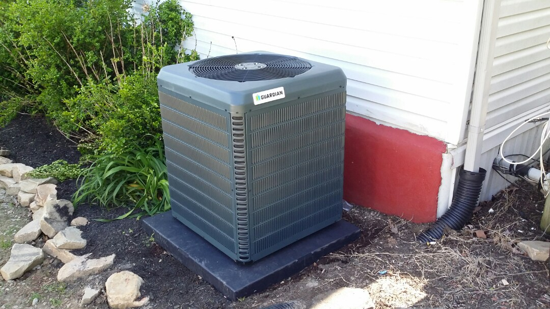 Installed new Guardian AC & Evap coil in Powell  .