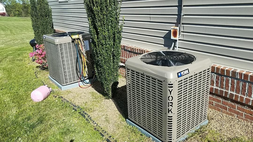 Seymour, TN - We Installed 2 York Heat Pump Systems in Seymour