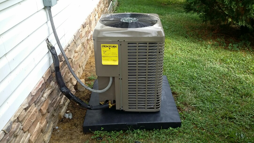 Knoxville, TN - Installed new York 1.5 Ton System with Gas Furnace in Knoxville.