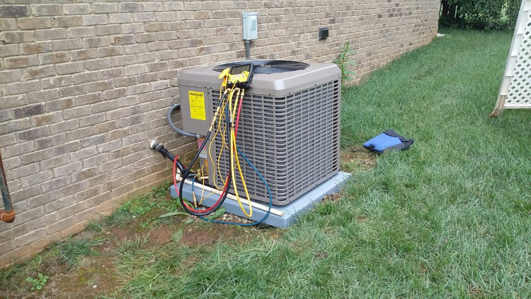 Seymour, TN - Installed new York Air Conditioning 15 Seer system in Seymour.
