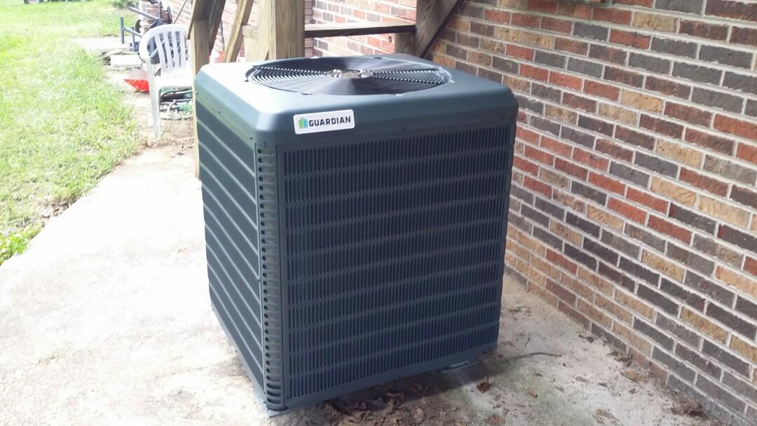 Seymour, TN - Installed new Guardian 3.5 Ton 15 Seer Heat Pump System in Seymour.