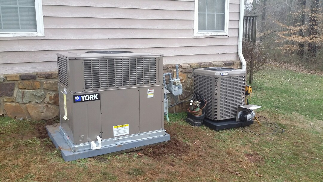 Installed York 2 Ton Gas System and York 2 Ton Heat Pump system in Seymour.