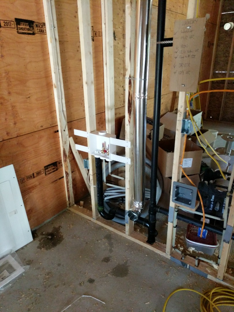 Victoria, BC - New addition Plumbing rough-in for Homeowner and Oak Bay British Columbia