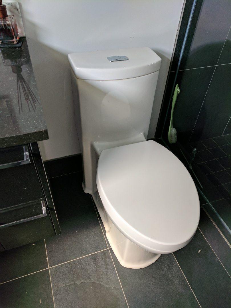 Saanichton, BC - American standard toilet repair for home owner in central saanich
