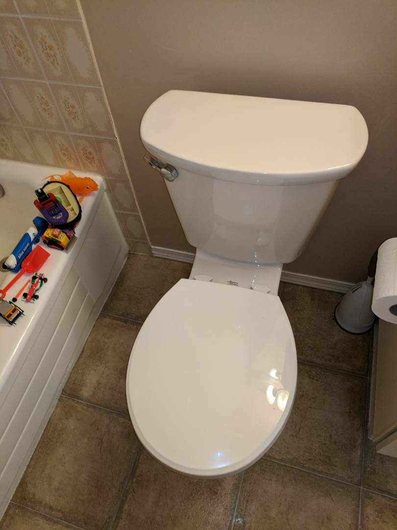 Saanichton, BC - Unclog and reinstall customer toilet in Saanichton