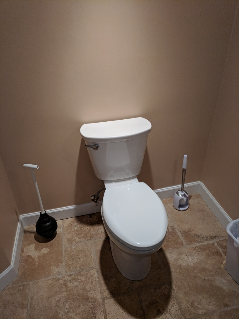 Replace toilet for homeowner in Victoria