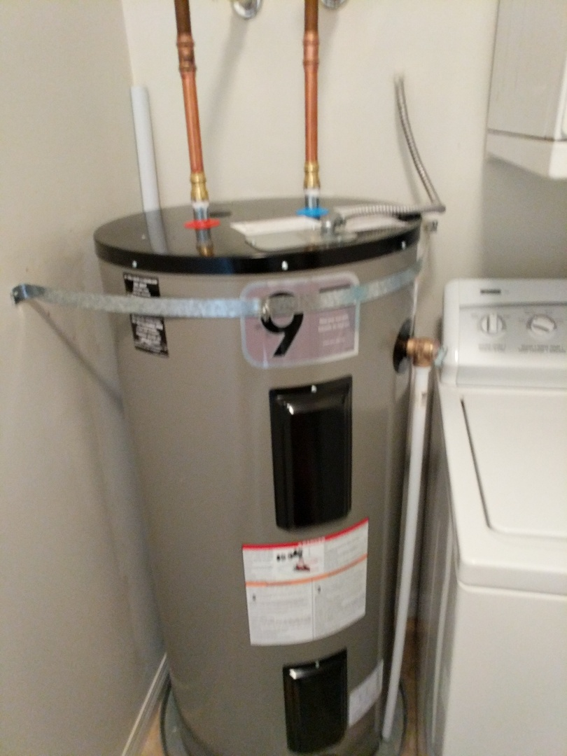 Replacing hot water heater for homeowner in Selkirk trestle area