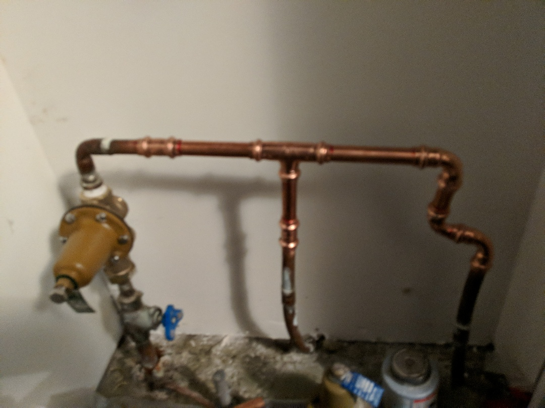Replacing pressure-reducing valve for Homeowner in Saanich BC