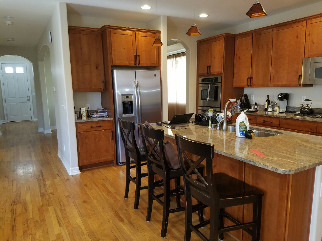 Superior, CO - Creating an estimate for kitchen cabinet painting in Rock Creek, Superior