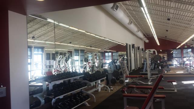 Commerce City, CO - Keeping the recreation center at Reunion looking fantastic, using Sherwin Williams ProMar 200 interior latex paint.  This one was done over the holiday break while the rec center was closed.  We love multi-family, HOA and commercial painting projects.
