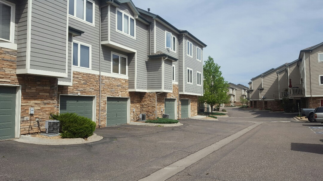 Littleton, CO - Color matching at Riverwalk  Townhomes, Canterbury. Littleton , CO