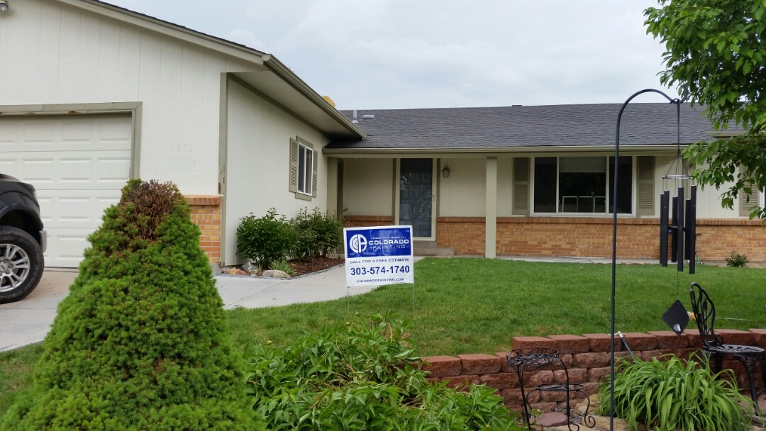 Arvada, CO - Just finished step one pressure washing in our painting process on this cute little Arvada home!