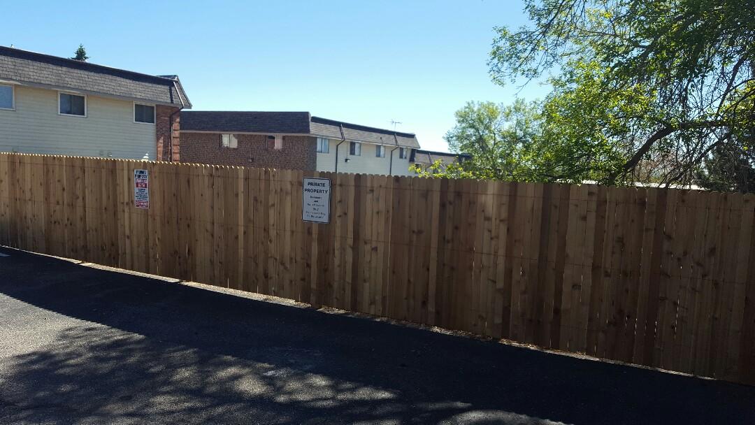 Denver, CO - Westchester fencing pt 2. Littleton CO
