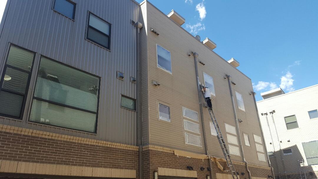 Denver, CO - Inca 29 loft building paint project. Downtown Denver, CO.