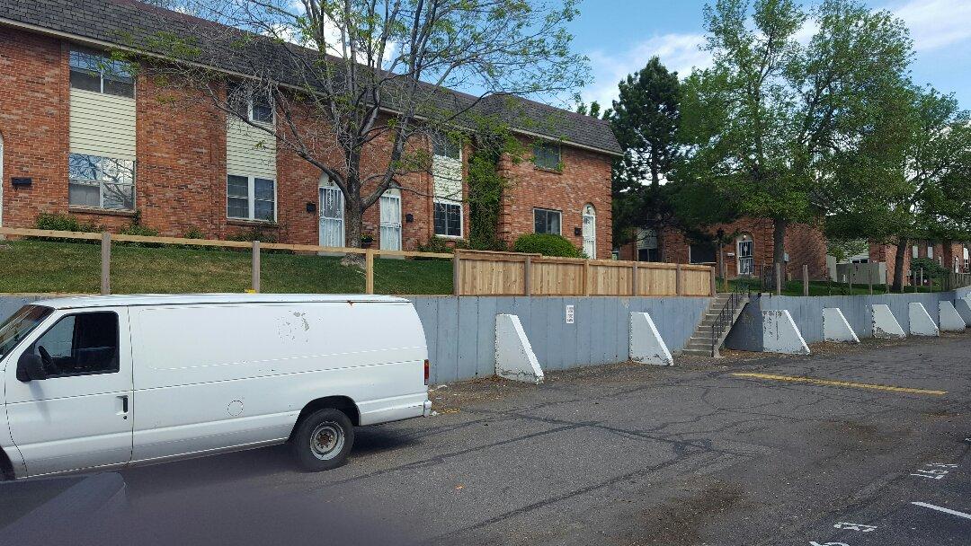 Denver, CO - Westchester fencing project. Littleton, CO